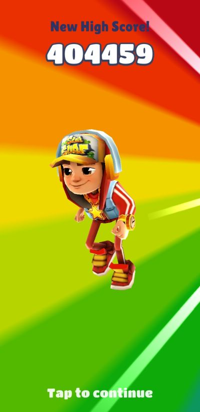 how to get a high score in subway surfers