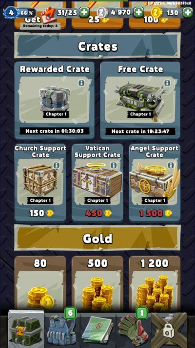 zombero crates