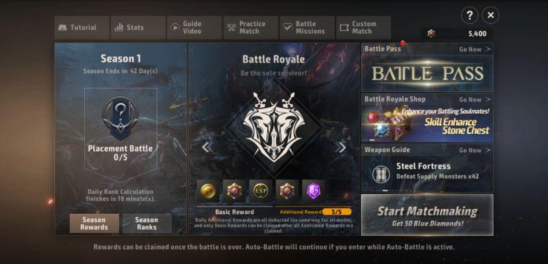 a3 still alive battle royale mode