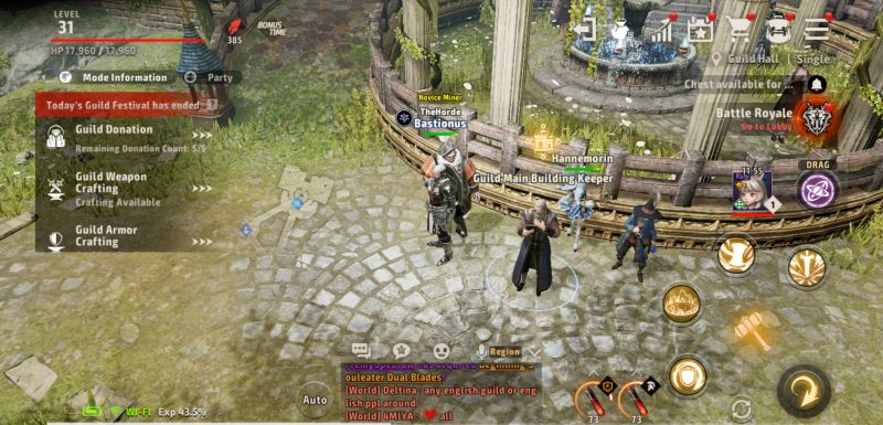 how to join a guild in a3 still alive