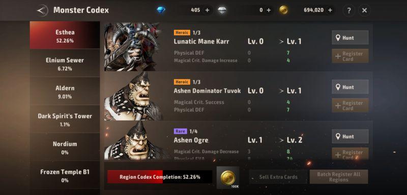 a3 still alive monster codex