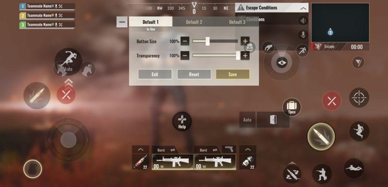 badlanders control settings