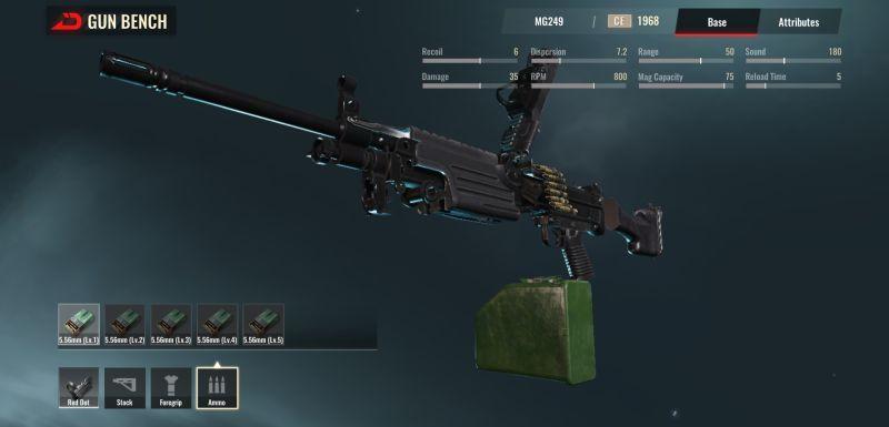 badlanders gun bench