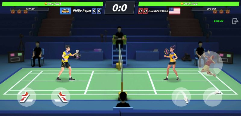 badminton blitz strategies