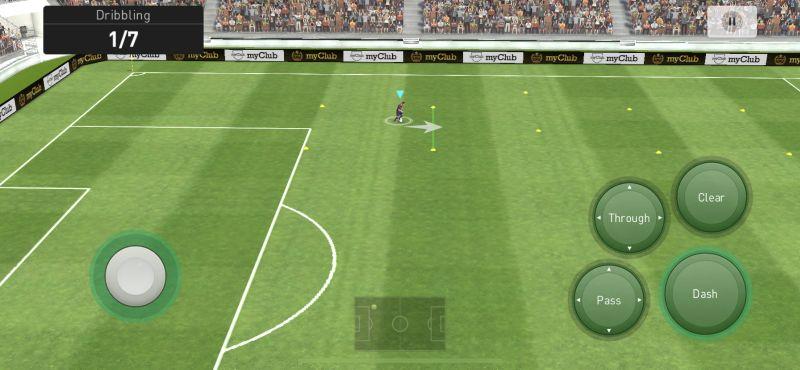 efootball pes 2021 dribbling