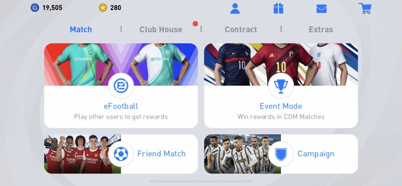 game modes in efootball pes 2021