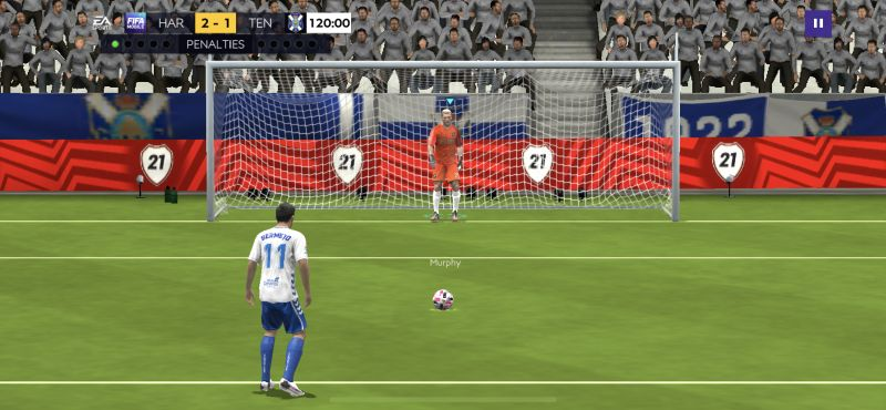 how to score and save penalties in fifa 21 mobile