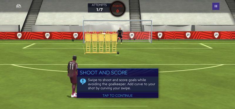 fifa 21 mobile skill game