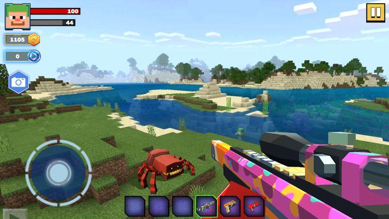 fire craft 3d pixel world tips
