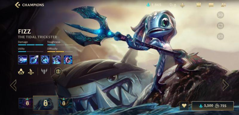 fizz build league of legends wild rift