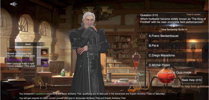 basic alchemy trial in forsaken world gods and demons