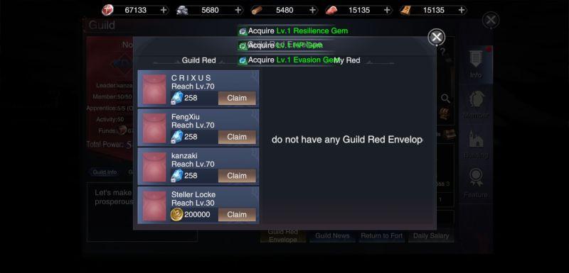 forsaken world gods and demons guild red