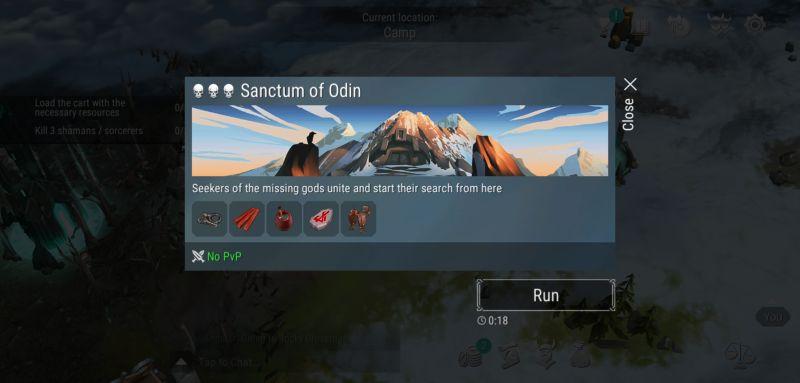 frostborn sanctum of odin
