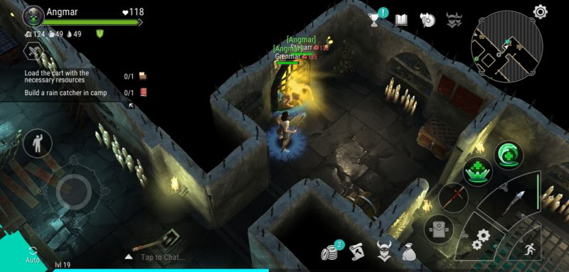 raiding a tomb in frostborn