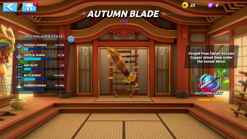 fruit ninja 2 autumn blade