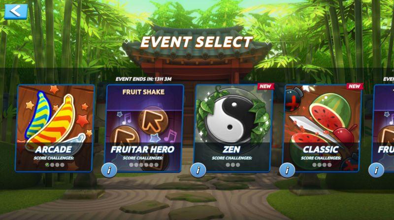 fruit ninja 2 events