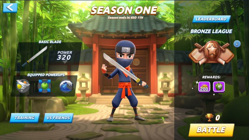 fruit ninja 2 league