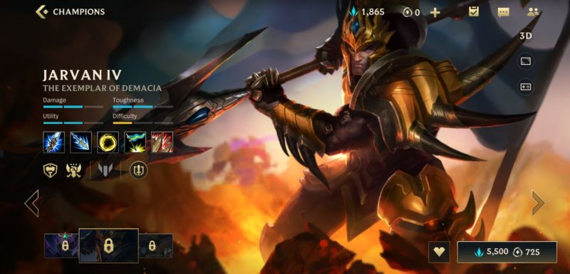 jarvan IV build league of legends wild rift