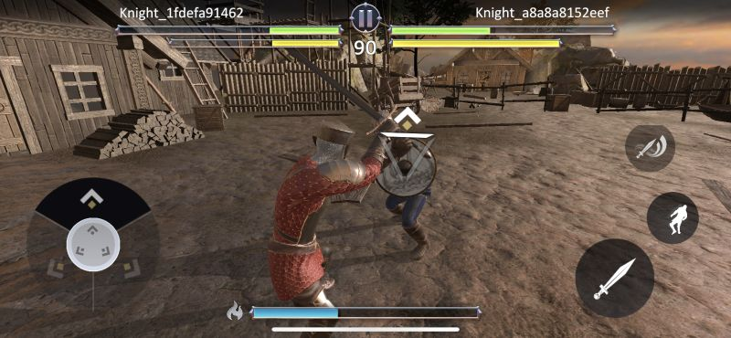 knights fight 2 combos