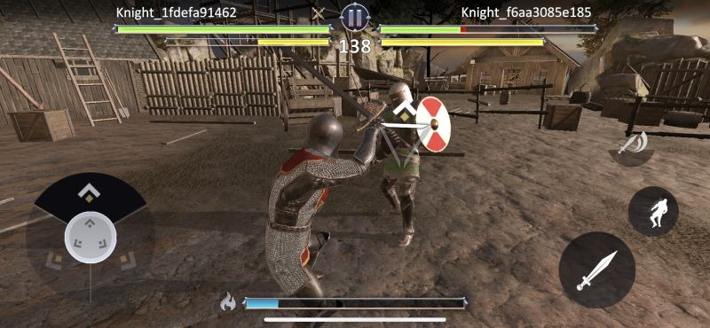offensive moves in knights fight 2