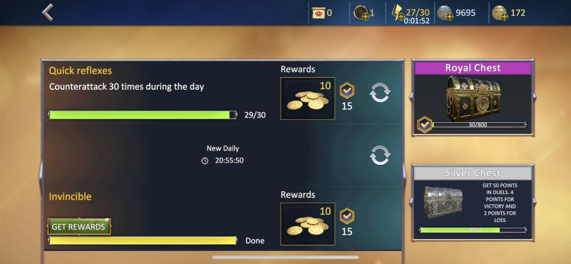 how to earn more rewards in knights fight 2