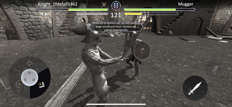 knights fight 2 stamina