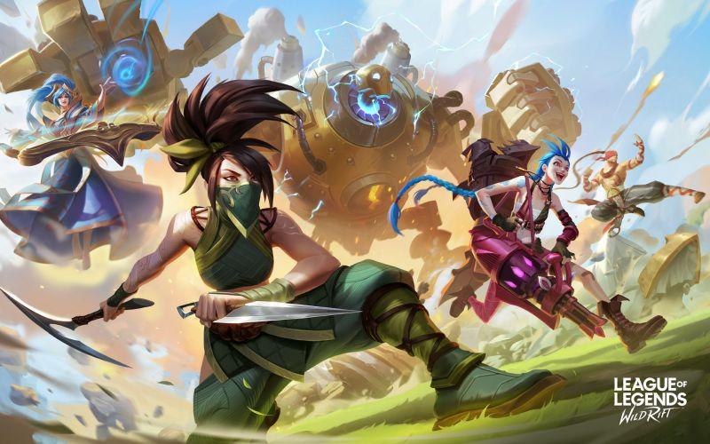 league of legends wild rift лучшие персонажи