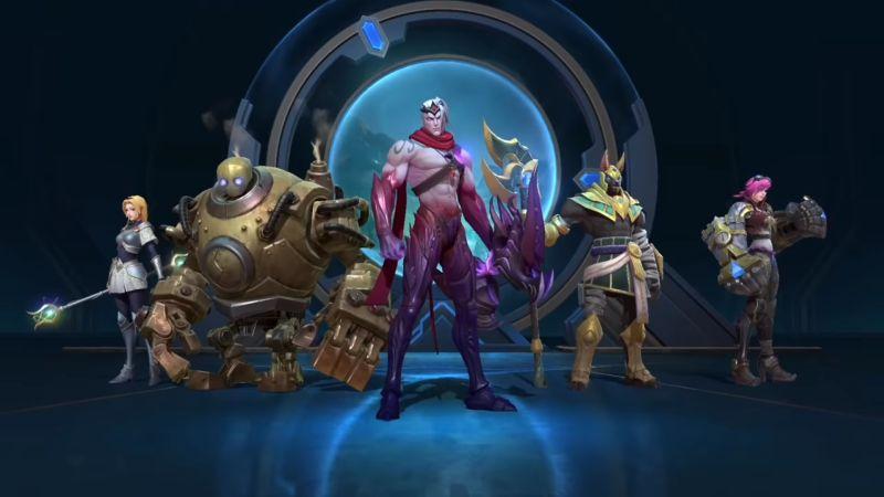 league of legends wild rift characters