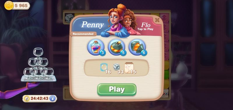 penny & flo finding home character