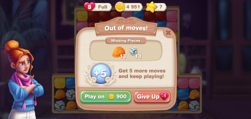 how to spend gold coins in penny & flo finding home
