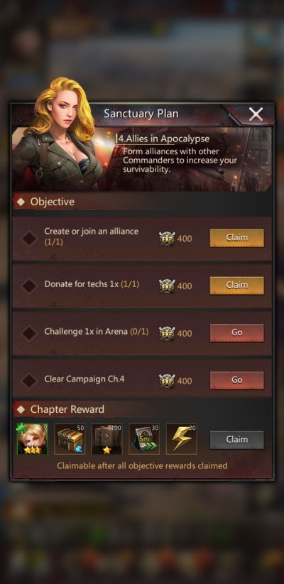 puzzles & survival chapter missions