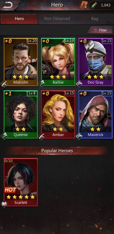 how to enhance heroes in puzzles & survival