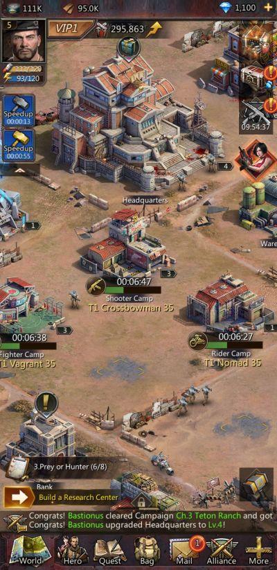 puzzles & survival facilities