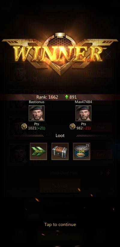 puzzles & survival victory