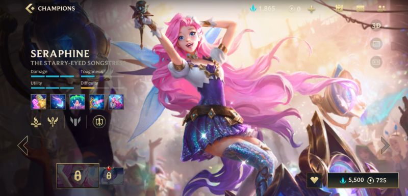 seraphine build league of legends wild rift