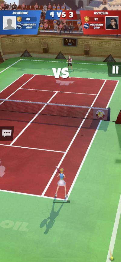 tennis go world tour 3d tips