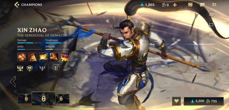 xin zhao build league of legends wild rift
