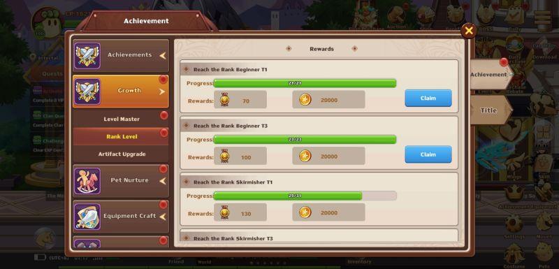achievements in rainbow story