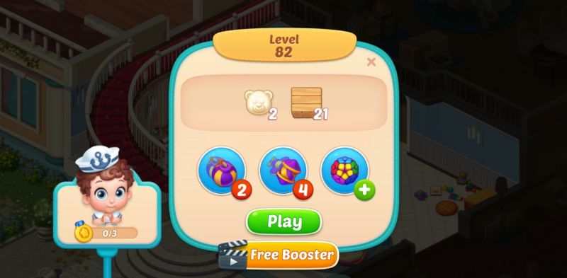 how to get free booster in baby manor
