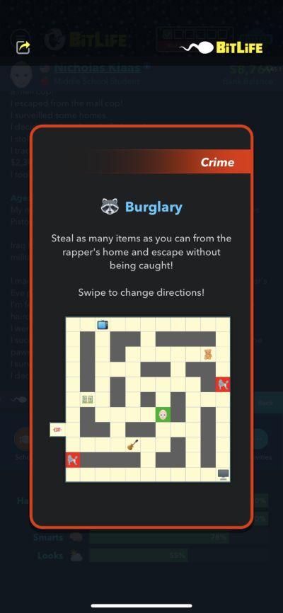 burglary in bitlife