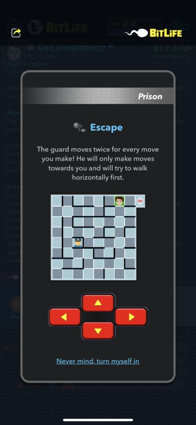 how to escape from prison in bitlife