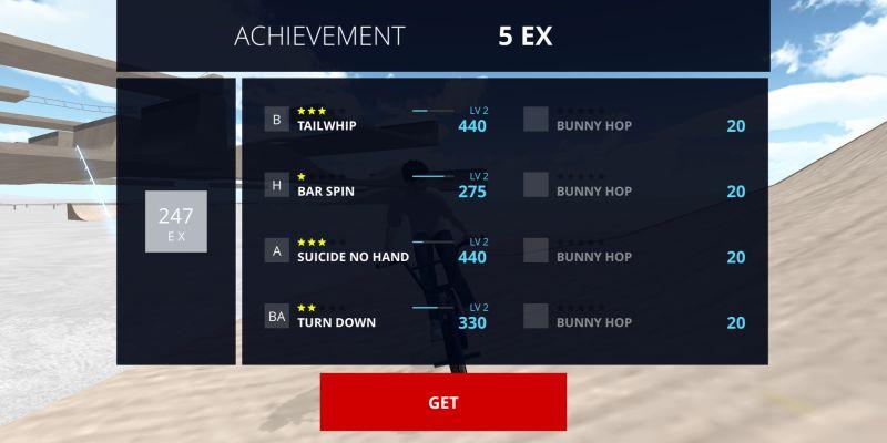 bmx space achievement