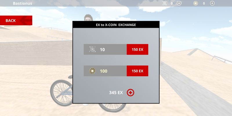 how to exchange ex to x-coin in bmx space