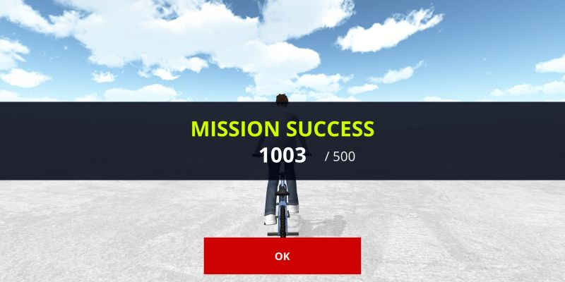 how to complete more missions in bmx space