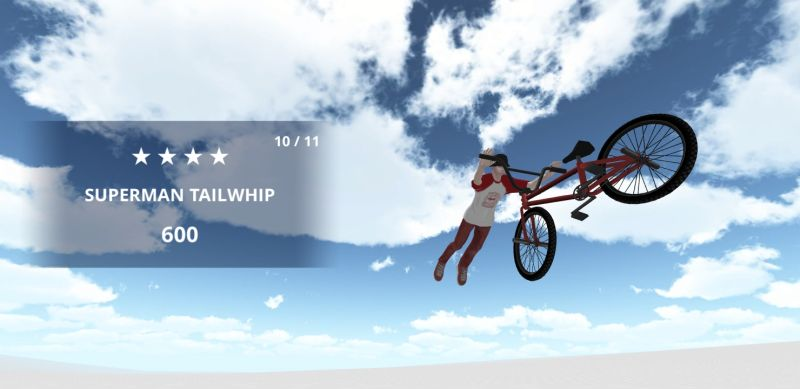 how to perform superman tailwhip in bmx space