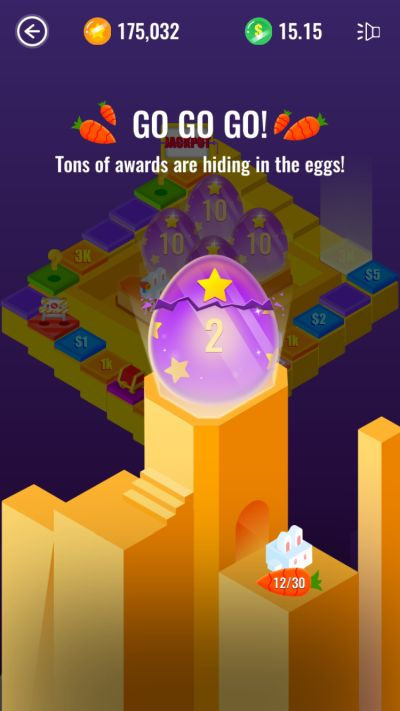 how to earn more rewards with the eggs in dice royale