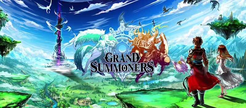 leveling up in grand summoners