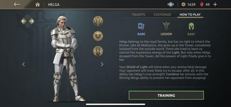 helga shadow fight arena