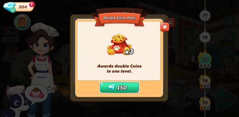 double coins pack in hellopet house