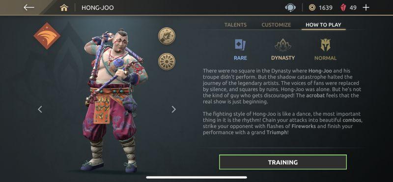 hong-joo shadow fight arena